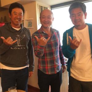 プロゴルファーの芹澤プロ、藤田プロ
