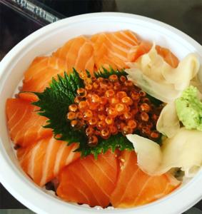 Bozu Japanese Restaurant の丼ぶり