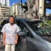 ハワイローカルグルメツアーのドライバー:トオルさん